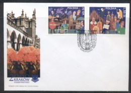 Poland 2000 Cracow European City Of Culture FDC - FDC