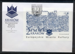 Poland 2000 Cracow European City Of Culture MS FDC - FDC