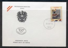 Austria 1997 Europa Myths & Legends FDC - FDC