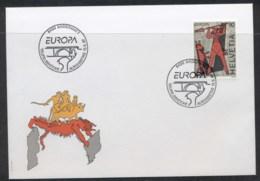 Switzerland 1997 Europa Myths & Legends FDC - FDC