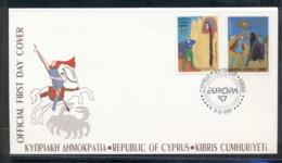 Cyprus 1997 Europa Myths & Legends FDC - Cyprus (Republic)