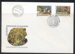 Hungary 1997 Europa Myths & Legends FDC - FDC