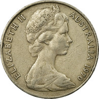 Monnaie, Australie, Elizabeth II, 20 Cents, 1970, TB+, Copper-nickel, KM:66 - 20 Cents