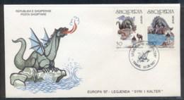 Albania 1997 Europa Myths & Legends FDC - Albania