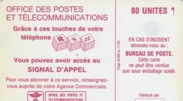 TELECARTE 80 UNITES  NOUVELLE-CALEDONIE    SCHLUMBERGER - New Caledonia