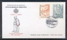 Monaco 1997 Europa Myths & Legends FDC - FDC