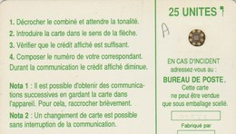 TELECARTE 25 UNITES  NOUVELLE-CALEDONIE    SCHLUMBERGER - New Caledonia