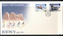 Jersey 1997 Europa Myths & Legends FDC - Jersey