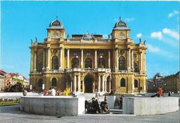 ZAGREB - Théâtre - Theater - Teatro - Croatie