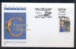 Spain 1997 Europa Myths & Legends FDC - FDC