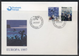 Faroe Is 1997 Europa Myths & Legends FDC - Faroe Islands