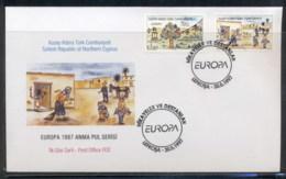 Cyprus Turkish 1997 Europa Myths & Legends FDC - Cyprus (Turkey)