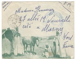 16455 - Enveloppe Avec  Illustration - Poststempel (Briefe)