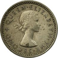Monnaie, Nouvelle-Zélande, Elizabeth II, 3 Pence, 1953, TB+, Copper-nickel - Nouvelle-Zélande