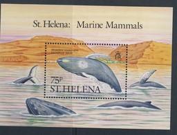 SAINTE-HELENE 1987 BALEINES  YVERT N°B7  NEUF MNH** - Baleines