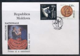 Moldova 1998 Europa Holidays & Festivals FDC - Moldova