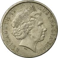 Monnaie, Australie, Elizabeth II, 10 Cents, 2001, TTB, Copper-nickel, KM:402 - 10 Cents
