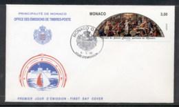Monaco 1998 Europa Holidays & Festivals FDC - FDC