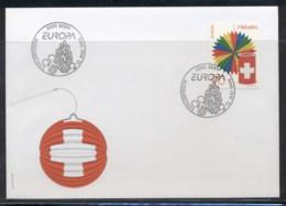 Switzerland 1998 Europa Holidays & Festivals FDC - FDC