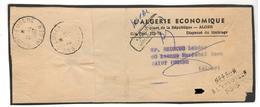 16460 - Pour  SAINT EUGENE - Marcophilie (Lettres)