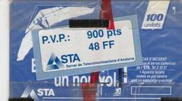 ANDORRA'91...TELETARJA 100 UNITATS....NEUVE SOUS BLISTER - Andorre