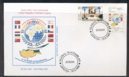 Cyprus Turkish 1998 Europa Holidays & Festivals FDC - Cyprus (Turkey)