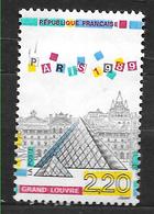 FRANCE 2581 Panorama De Paris Pyramide Du Grand Louvre . - Oblitérés
