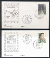 Italy 1998 Europa Holidays & Festivals 2x FDC - 6. 1946-.. Republic
