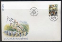 Aland 1998 Europa Holidays & Festivals FDC - Aland