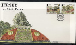 Jersey 1999 Europa Nature Parks FDC - Jersey