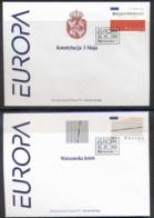 Poland 1998 Europa Holidays & Festivals 2x FDC - FDC