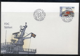 Aland 1998 Ships FDC - Aland