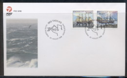 Greenland 1998 Ships FDC - FDC