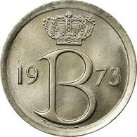 Monnaie, Belgique, 25 Centimes, 1973, Bruxelles, TTB, Copper-nickel, KM:153.1 - 02. 25 Centimes