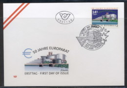 Austria 1999 Council Of Europe FDC - FDC