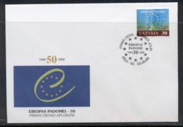 Latvia 1999 Council Of Europe FDC - Latvia
