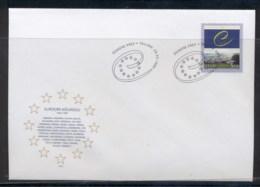Estonia 1999 Council Of Europe FDC - Estonia