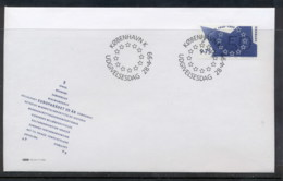 Denmark 1999 Council Of Europe FDC - FDC