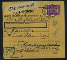 Paketkarte 1934 HALLE Siehe Beschreibung (115123) - Deutschland