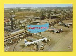 AIRPORT ֎ AEROPORT ֎  Aérogare  De PARIS ORLY AVION    ֎ 1976 - Aerodromi