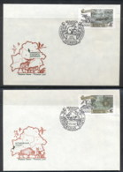 Belarus 1999 Europa Nature Parks 2x FDC - Russia & USSR