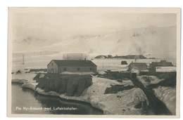 CPA NORVEGE ALESUND MED LUFTSKIBSHALLEN - Norvège