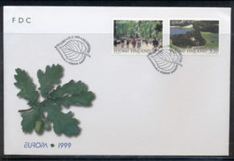 Finland 1999 Europa Nature Parks FDC - Finland
