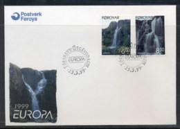 Faroe Is 1999 Europa Nature Parks FDC - Faroe Islands
