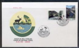 Turkey 1999 Europa Nature Parks FDC - 1921-... Republic