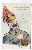 CPA  Militaria :   Gournay   Moustique Belge     VOIR DESCRIPTIF  §§§ - Humoristiques