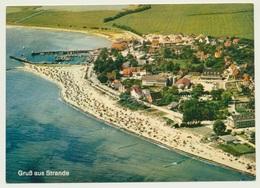 AK  Ostseebad Strande Luftaufnahme - Rendsburg