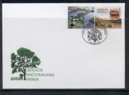 Lithuania 1999 Europa Nature Parks FDC - Lituania