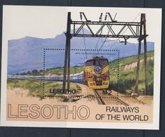 LESOTHO 1984 TRAINS YVERT N°B27  NEUF MNH** - Trains