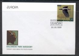 Poland 1999 Europa Nature Parks FDC - FDC